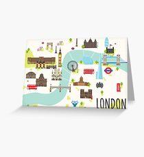 Londons Calling Greeting Card