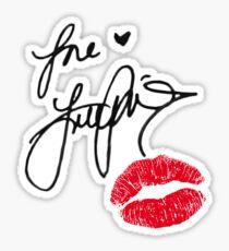 Lana Parrilla Autograph & Kiss Sticker