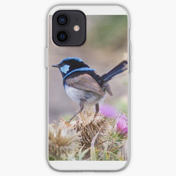 Blue Wren iPhone Soft Case