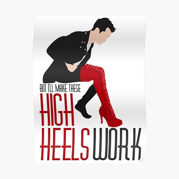 Make These High Heels Work Poster