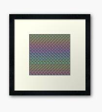 Rainbow Mermaid Scales Framed Print
