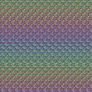 Rainbow Mermaid Scales by InfiniteWonders