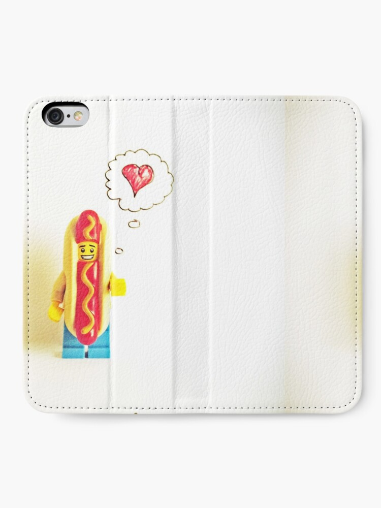 Alternate view of You're more hot than dog iPhone Wallet