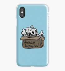 Human Remains iPhone Case/Skin
