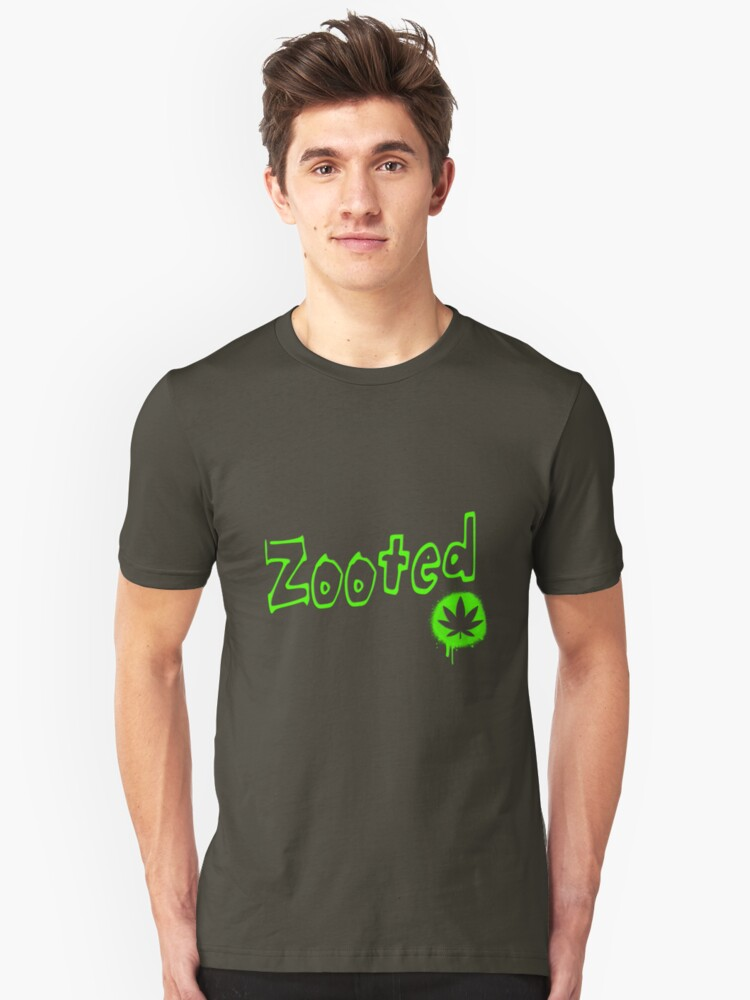 Zooted Unisex T-Shirt Front
