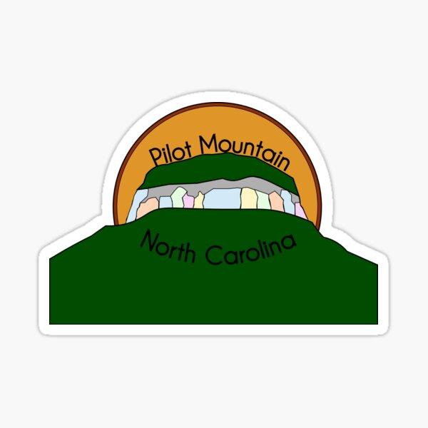 Pilot Mountain, North Carolina  Sticker