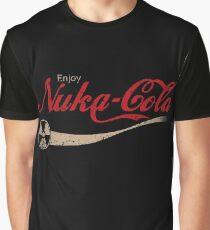 enjoy nuka cola drink eat apocalypse game parody funny humor joke Graphic T-Shirt