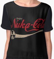 enjoy nuka cola drink eat apocalypse game parody funny humor joke Chiffon Top