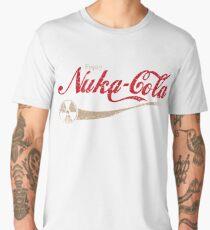 enjoy nuka cola drink eat apocalypse game parody funny humor joke Men's Premium T-Shirt