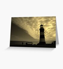 Plymouth Gold Greeting Card