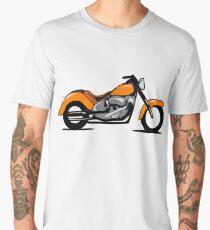 Motorbike, Illustration Men's Premium T-Shirt