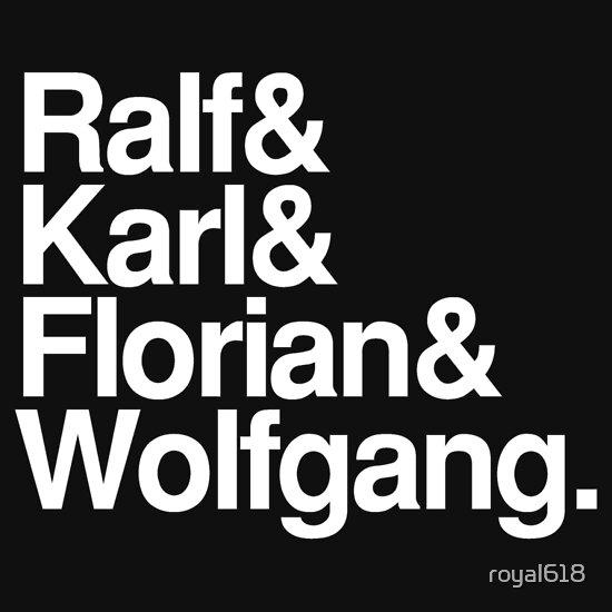 TShirtGifter presents: Kraftwerk