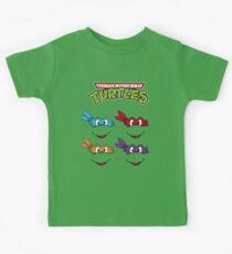 Half-Shell heroes Kids T-Shirt