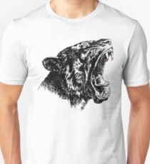 Roaring Saber-Toothed Tiger, Drawing T-Shirt