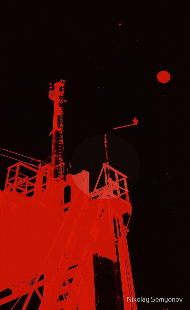 Industrial Moon by Nikolay Semyonov