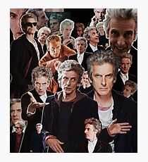 Peter Capaldi - 12th Doctor Photographic Print