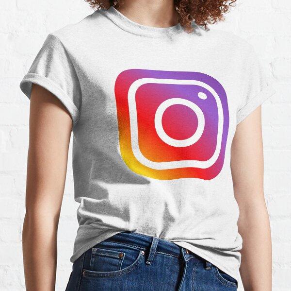 Instagram logo Classic T-Shirt