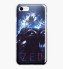 league of legends-championship zed iPhone Case/Skin