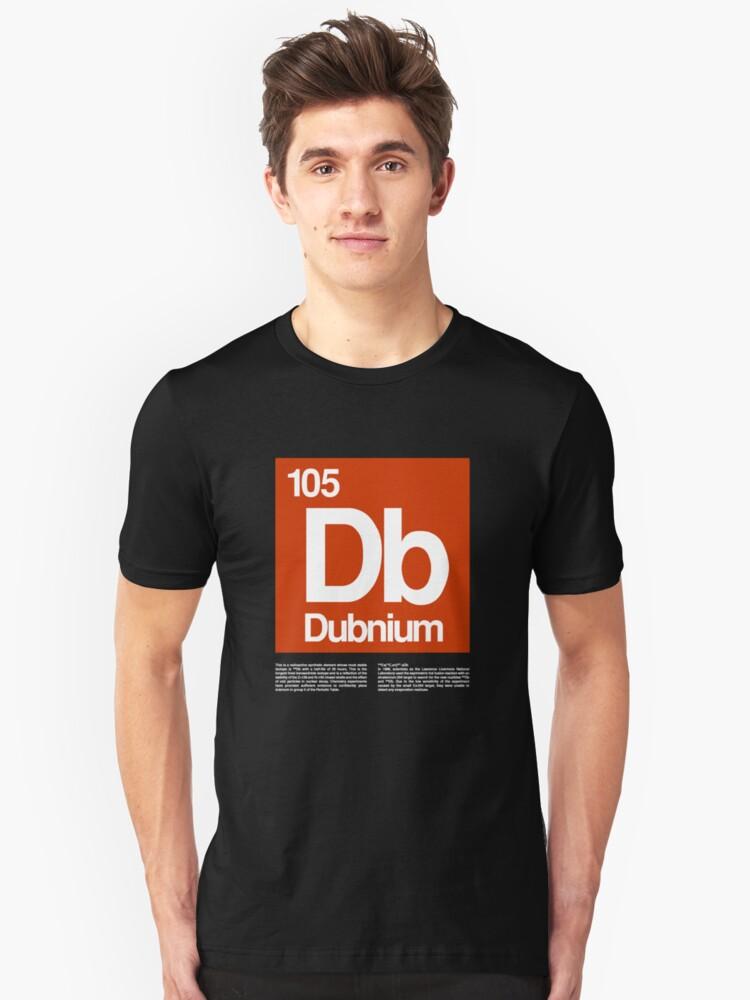 105-Dubnium Unisex T-Shirt Front