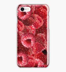 Raspberry Pattern iPhone Case/Skin