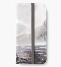 Boats on a lake iPhone Wallet/Case/Skin