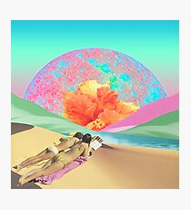 Hibiscus Beach Photographic Print