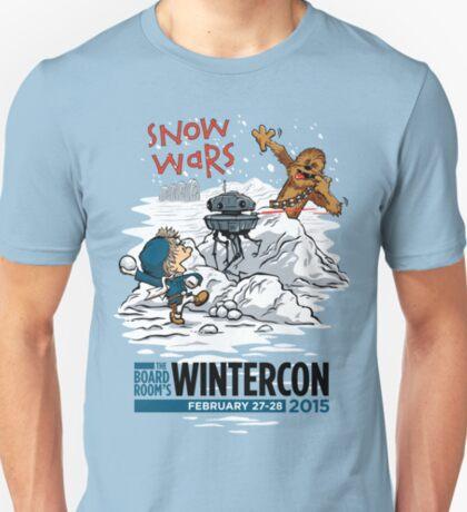 Snow Wars (for WINTERCON 2015) T-Shirt
