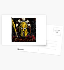 Spartan Postcards