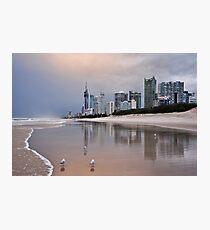 Dusk on the Gold Coast Photographic Print