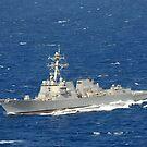 Der Lenkwaffenzerstörer USS Chung-Hoon. von StocktrekImages