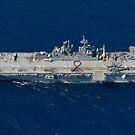 Amphibisches Angriffsschiff USS Bonhomme Richard. von StocktrekImages