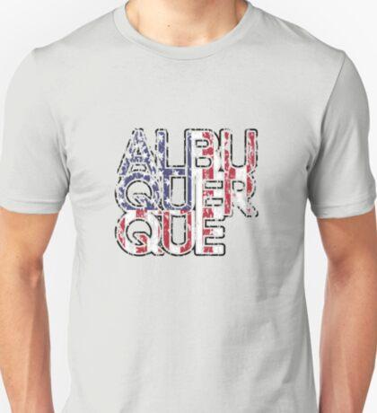 US Flag City - Albuquerque T-Shirt