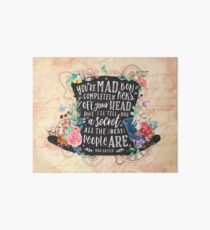 Mad Hatter Art Board