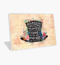Mad Hatter Laptop Skin