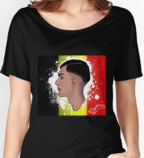 """Stromae's """"Racine Carrée"""" Belgian Redesign Women's Relaxed Fit T-Shirt"""
