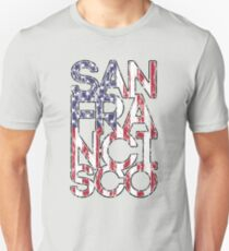 US Flag City - San Francisco T-Shirt