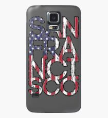 US Flag City - San Francisco Case/Skin for Samsung Galaxy