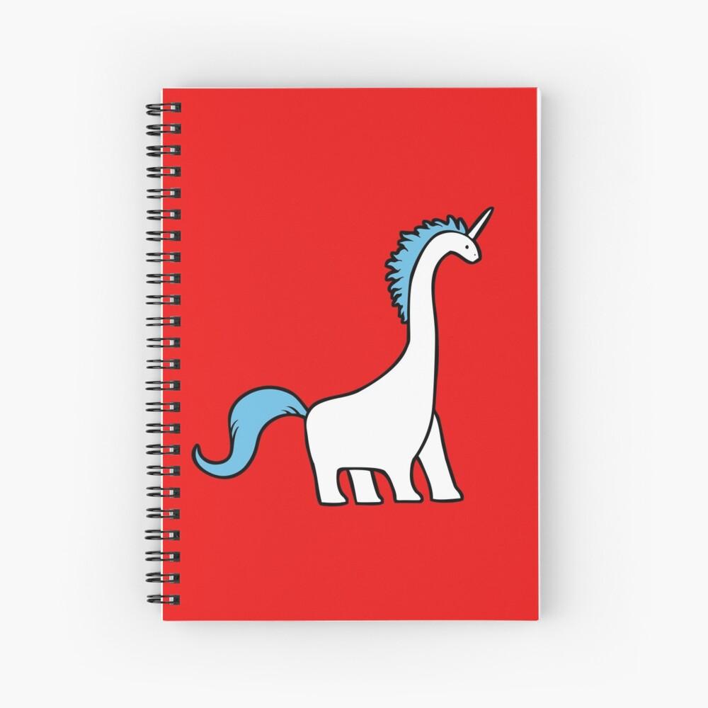 Lindo Dinocorn (brachiosaurus del unicornio) Cuaderno de espiral