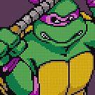 TMNT Donnie, Pixel Arcade Edition by horatiohayden