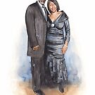 couple watercolor by Mike Theuer