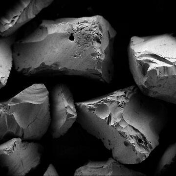 sand grain -atomic microscope by grazgar