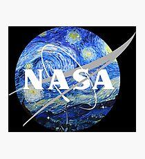 NASA Art Starry Night  Photographic Print