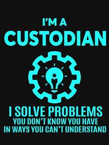 d088b09ae Custodian T-Shirts | Redbubble