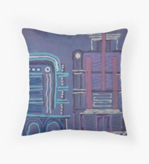 South Beach #4 by Elle Throw Pillow