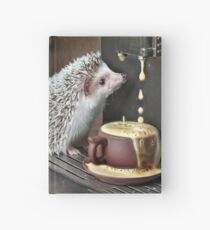 """""""wake up dear your coffee is ready"""" Hardcover Journal"""