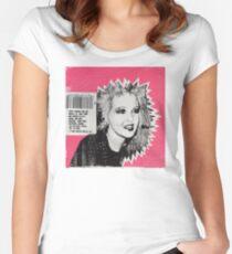 Cyndi Lauper Gum Women's Fitted Scoop T-Shirt