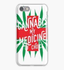 Cannabis Medicine iPhone Case/Skin