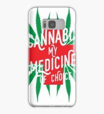 Cannabis Medicine Samsung Galaxy Case/Skin