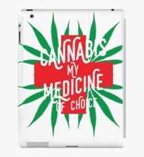 Cannabis Medicine iPad Case/Skin