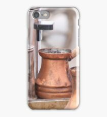 Coffee preparation Vintage concept. iPhone Case/Skin